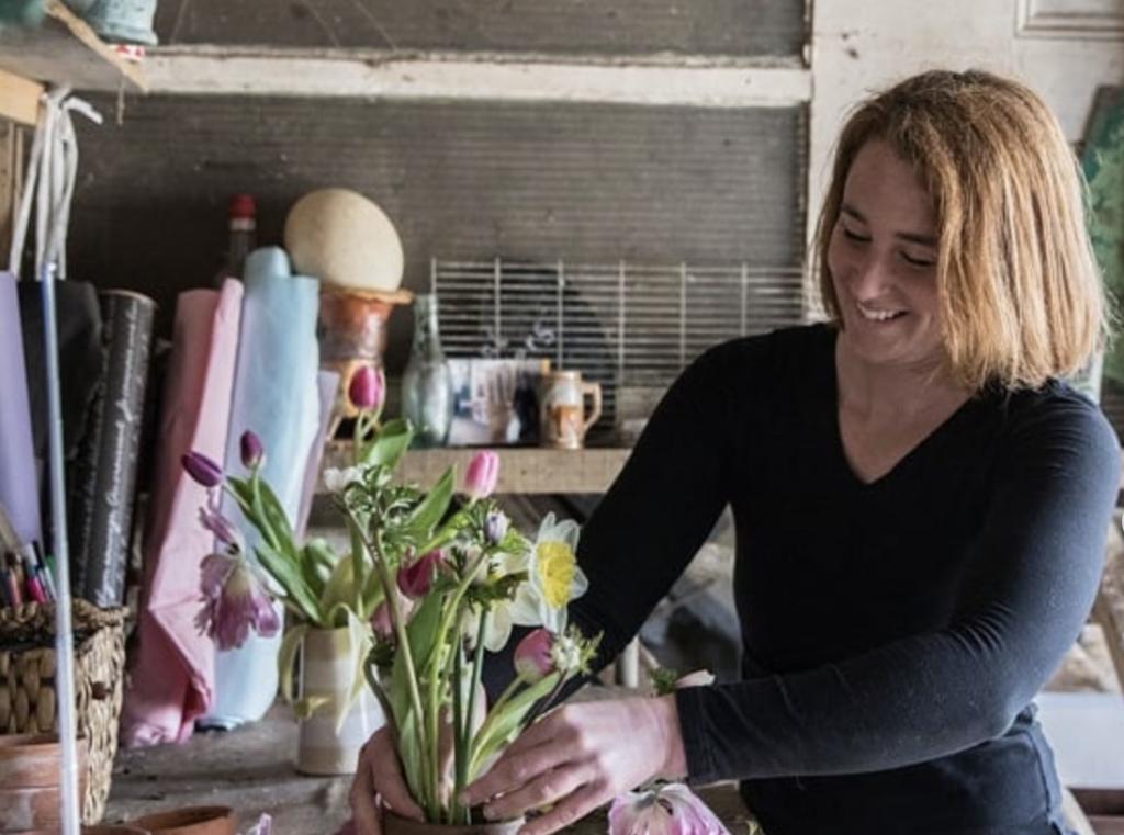 Harriet Mullins. Southwest Co-ordinator Sweetpeas and Sunflowers.