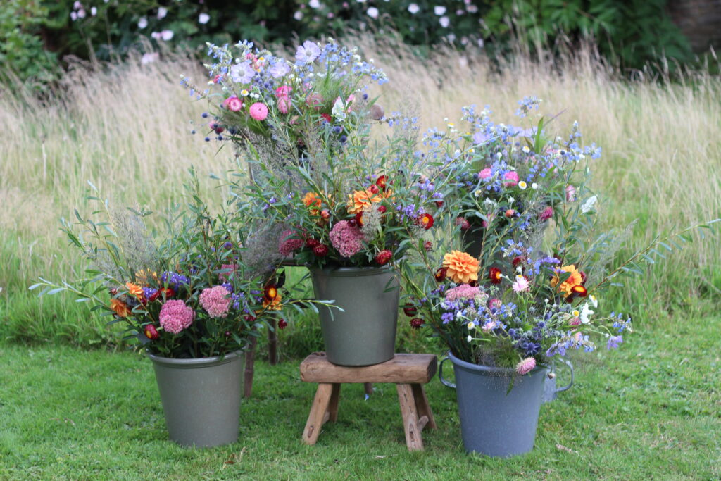 Mixed buckets of cut flowers for florists are what Michael Hardy of Ravenshill Flower Farm plans to focus on for the 2021 season.